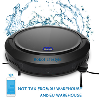 Smart Auto vacuum dust cleaner robot vacuum cleaner wet and dry mop for dog pet hair multifunction household cleaning