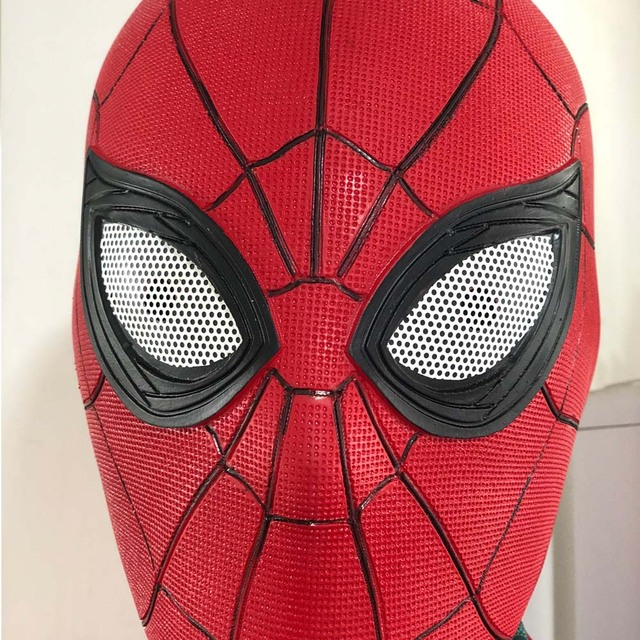Spider Man Far From Home Mask Latex Version 2 One Size 4