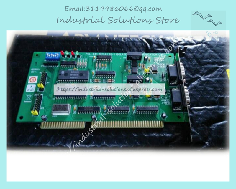 New for PCL-841 double port isolation CANREV.A1 industrial board 01-1 ISOLATED acquisition card pcl 722 collecting board 144 dio board volume bit digital i o card