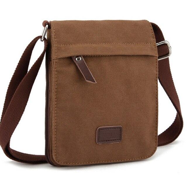 Men's Canvas Bag Casual Travel Bolsa Masculina Men's Crossbody Bag Men Messenger Bag High Quality