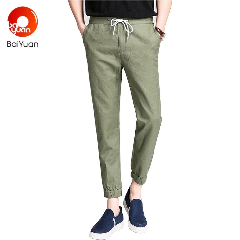 Baiyuan Koreanischen Stil 2017 Marke Männlichen Pluderhosen
