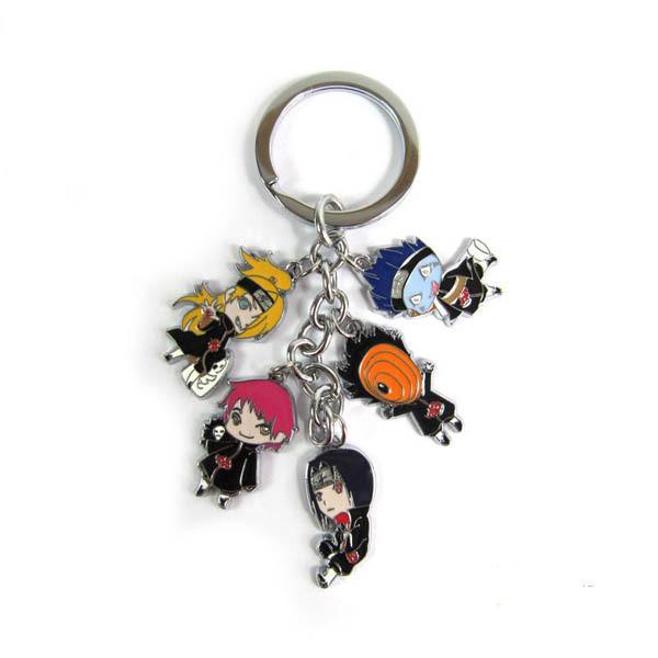 Akatsuki Metal Keychain Pendant