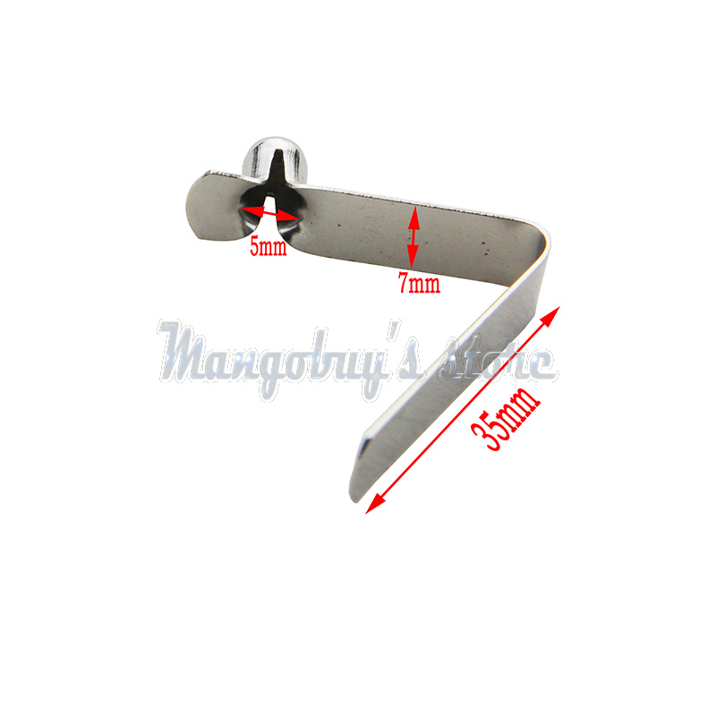 50 Piezas Clip de Resorte de un Solo bot/ón 3 mm 7 mm 4 mm 9 mm para Kayak Paddle Snap Clip de Resorte Tienda de campa/ña Clips de Poste Tubo de toldo Tubo telesc/ópico 6 mm 8 mm 5 mm
