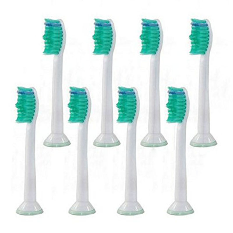 8pcs HX6014 Generic Electric Sonic Replacement Brush Heads Fits For Philips Sonicare Toothbrush Heads Soft Bristles Proresults 50pcs new uv germicidal sanitizer replacement bulb for philips sonicare hx6150 hx6160 hx7990 hx6972 hx6011 hx6711 hx6932 hx6921