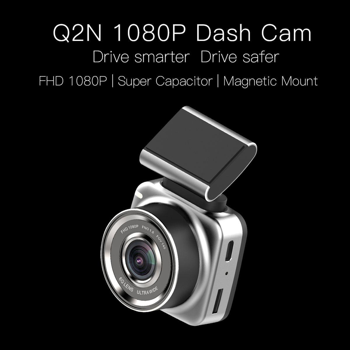 Anytek Q2 détecteur de Radar DVR DVR DVR FHD 1080 P enregistreur vidéo caméra tableau de bord caméra ADAS LDWS Support magnétique amovible