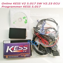 New Arrived Online Version Master 100% No Tokens Kess 5.017 Kess V2 V5.017 OBD2 Manager Tuning Kit V2.23 ECU Programmer