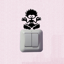Large Salt Rock Surf Fashion Light Switch Decal Vinyl Wall Stickers 5WS1166