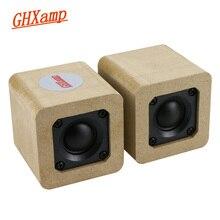 GHXAMP ネオジウムツイータースピーカー 6ohm 15 ワット絹フィルムのフルレンジと迷路スピーカー高音補償容量 1 ペア