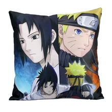 Naruto Japanese  High Qualtiy Pillow Cover 16×16 inch Pillowcase Invisible Zippered