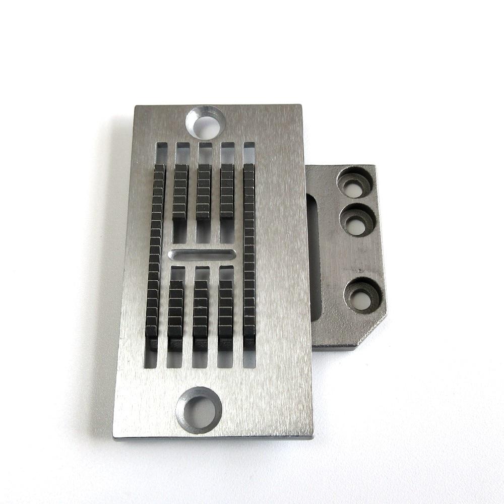 Needle Plate + Feed Dog For Pfaff 118 Zigzag Machine.#91-163424-04+ 91-163380-04