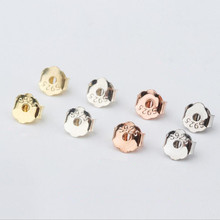 10pcs 925 Sterling Silver Butterfly Earring Back Stoppers Post Stud Earrings Backs Women Jewelry for DIY Earring Making Z949