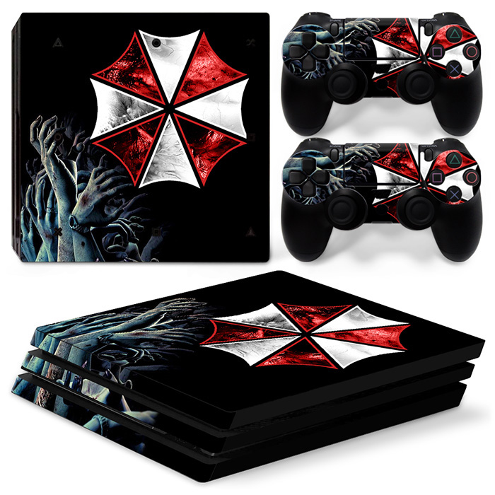 free drop shipping Easy fit and removable skin sticker for ps4 pro controller with great quality #TN-P4Pro-1447