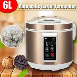 WARMTOO EU/US 220V 6L Large Smart Automatic Black Garlic Fermenter Maker Zymolysis Machine Electric Household Automatic Pot Box