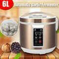 WARMTOO ab/abd 220V 6L büyük akıllı otomatik siyah sarımsak fermentasyon cihazı üreticisi Zymolysis makinesi elektrikli ev otomatik Pot kutusu