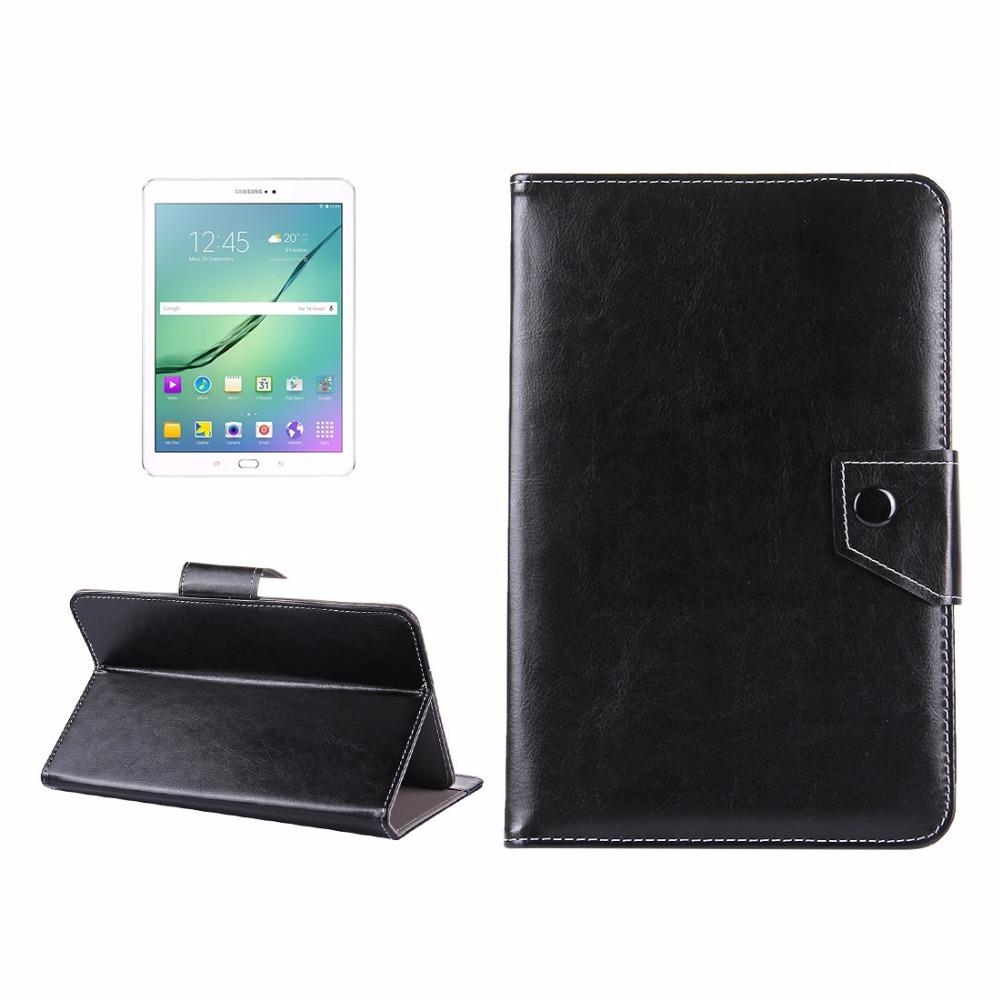 10 Inch Tablets Leather Protective Case Shell With Holder For Asus Zenpad 10 Z300C, Huawei Mediapad M2 10.0-A01W, Cube IWORK10
