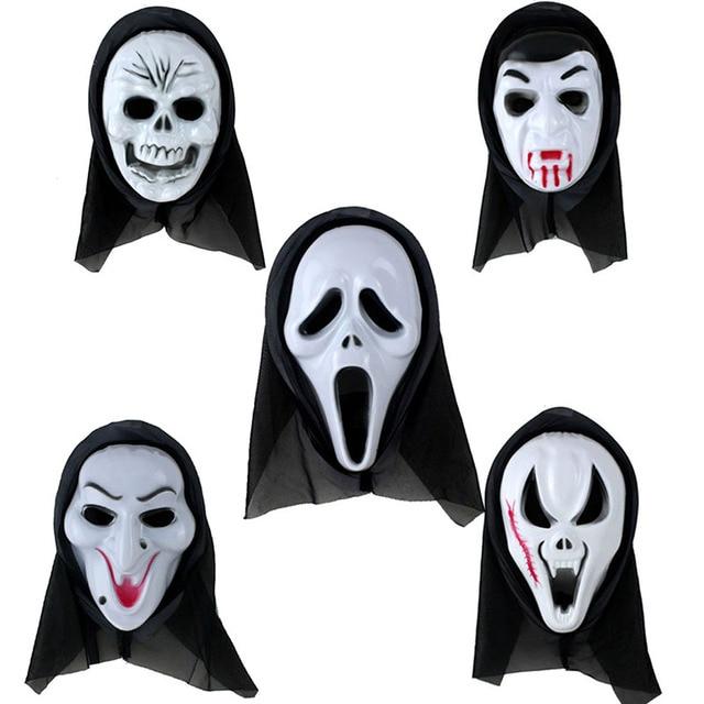 Halloween maske Partei Scary Ghost Face Maske Schrei maske Kostüm ...