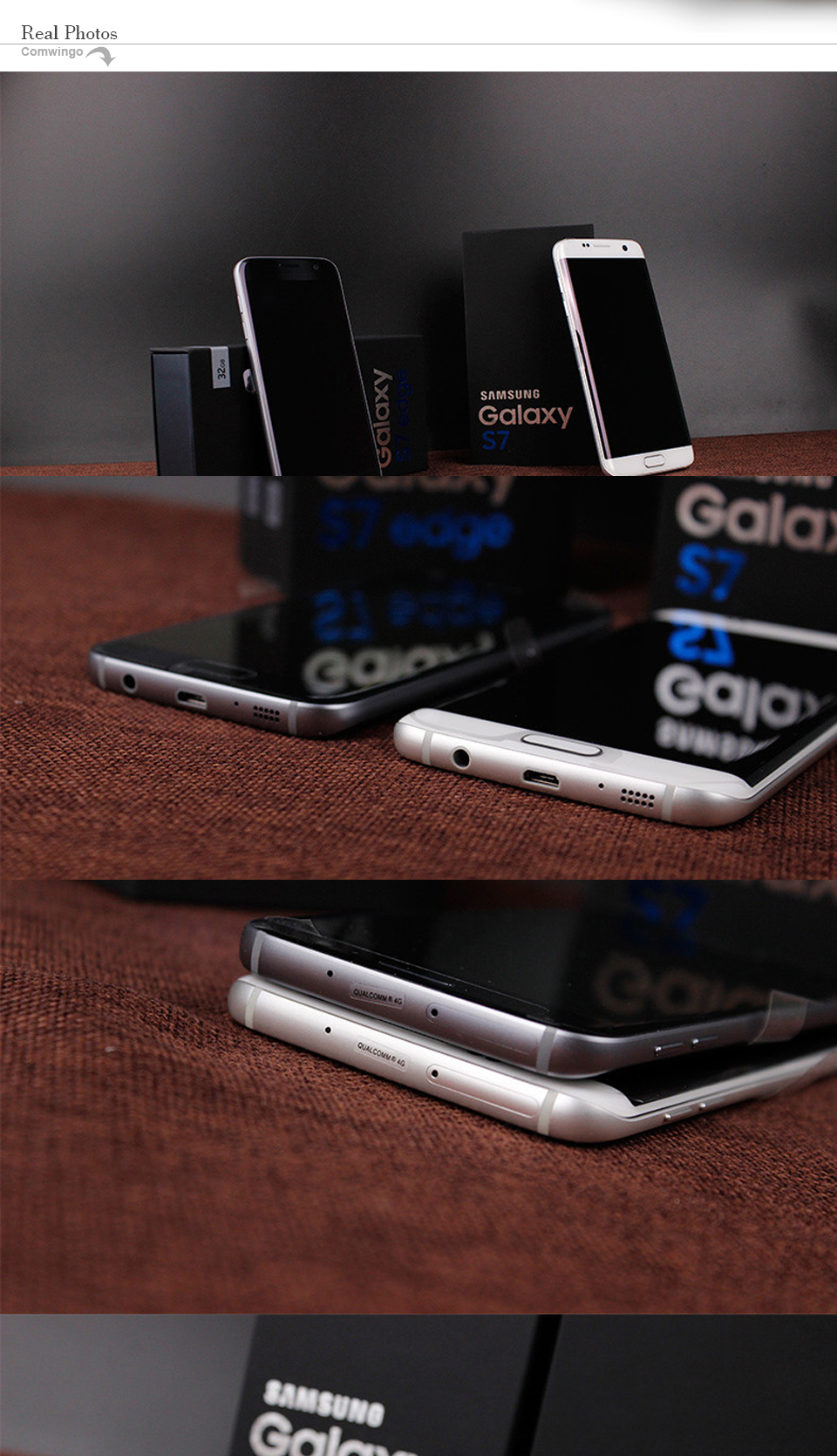 Samsung Galaxy S7 Edge G935V/G935F 32GB GSM Unlocked Smartphone