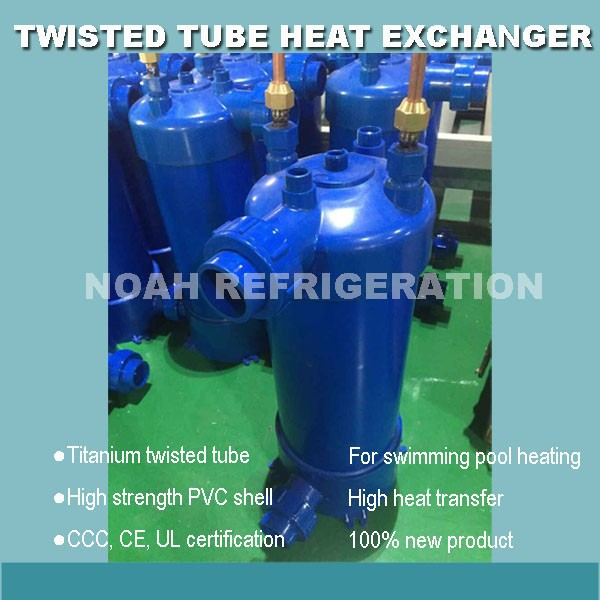 Free Shipping 21 0kw High Efficient Water Cooled Condenser Swimming Pool Heat Exchanger In