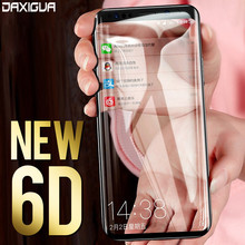 DAXIGUA 6D Full Curved Tempered Glass For Samsung Galaxy S9 S8 Plus Screen Protector For Samsung S6 S7 Edge Note 8 Cover Glass