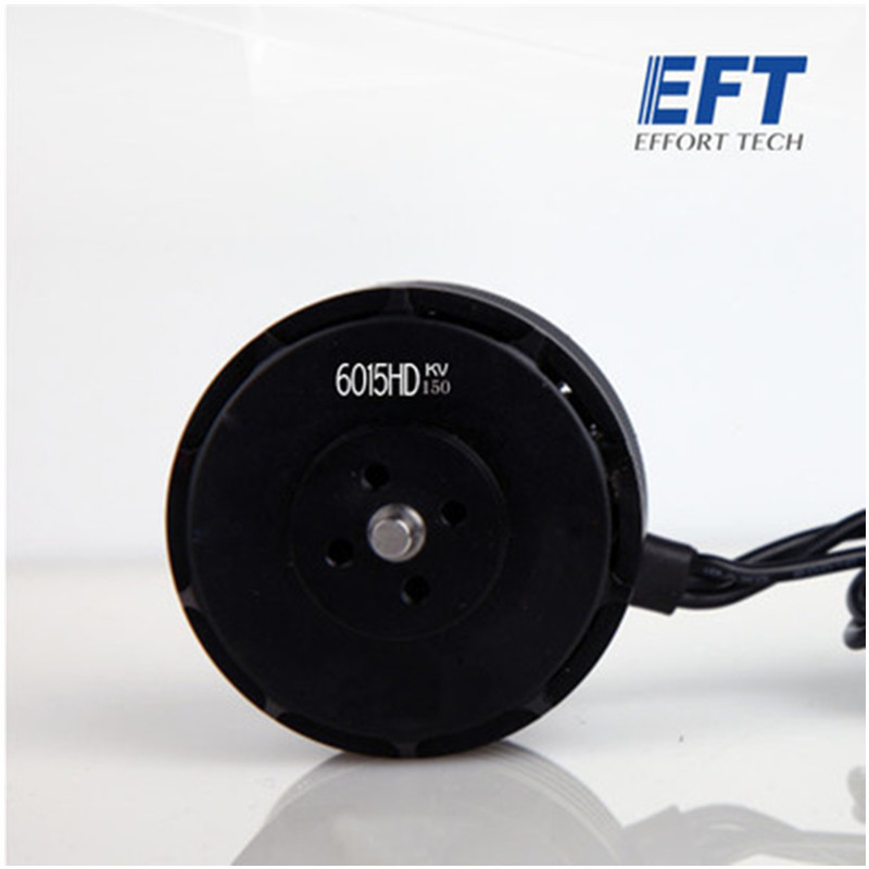 EFT 6015HD-<font><b>150KV</b></font> high power multi-rotor disc type brushless motor for Agriculture Plant Protection Drone image