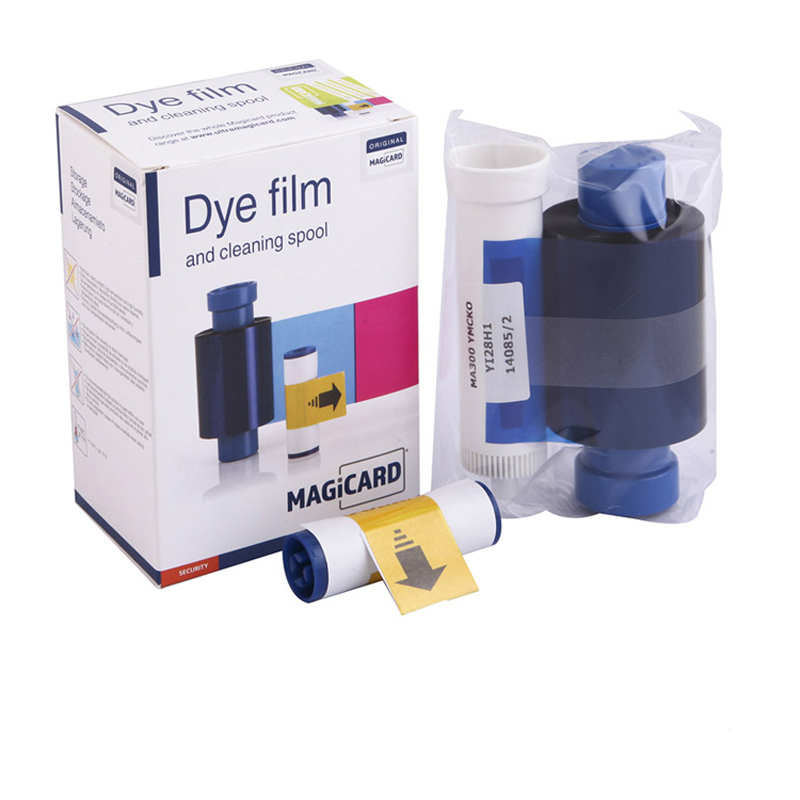 MAGICARD MA300YMCKO For Enduro ID Card Printer Color Ribbon 300 prints