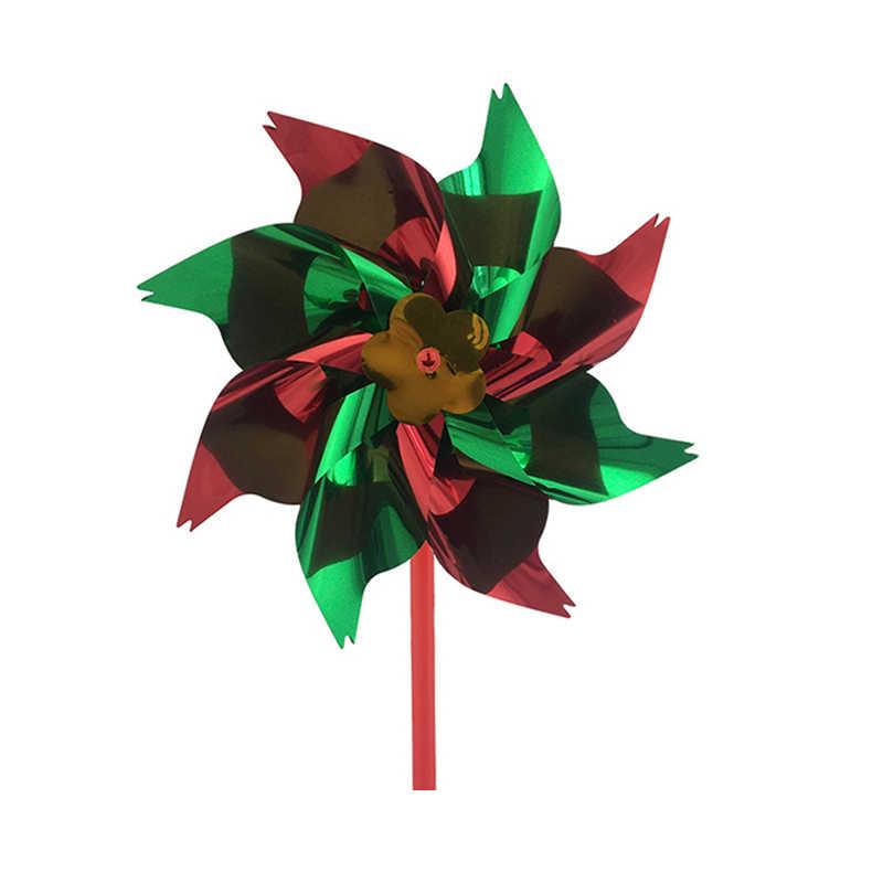 Новый ветряная мельница Классические игрушки Дети Цветной мельница для 36 см большие Размеры ветер Spinner украшения удовольствие забавная игрушка