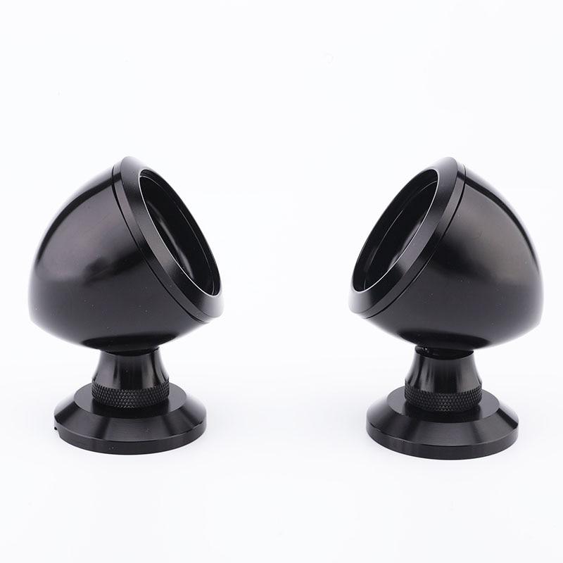 Audio Car Tweeter Aluminium Base Speaker Boxes 20-25 ( One Pair ) Black Color Som Automotivo Car Speakers In Stock