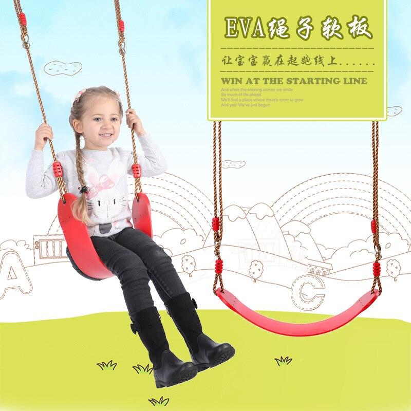 Balançoire de sécurité pour enfants bébé EVA Soft Board U Type balançoire aire de jeux extérieure berceau bébé videur à bascule Hangmat adultes et enfants
