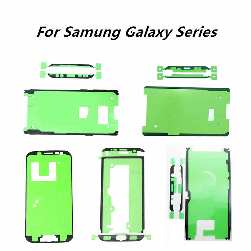 Lcd Bezel Frame Tape Voor Samsung S6 Rand S7 Rand S8 Plus S9 Plus Note 8 Lijm Front Frame Tape back Cover Sticker