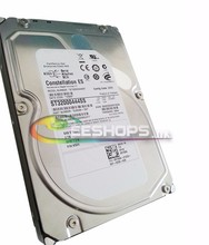100% New Genuine for Dell Server 2TB HDD 2 TB 3.5″ Hard Disk Drive RD755K ST32000444SS SAS 6Gbps 7200 RPM Storage Drives Case