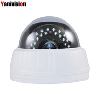 2.8 12mm Zoom 5MP 4MP 1080P H.265 IP Camera POE Plastic IR Indoor IP Dome Motion Detection Night Vision Hikvision Protocol ONVIF