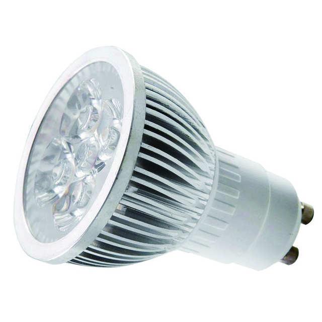 4w Dimmable Gu10 Led Light Bulbs Recessed Lighting Replacement For 20 Watt 50mm 110v 220v Spotlight Lamp Bulb White