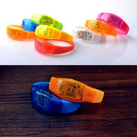 Event And Party Sound Control Led Flashing Bracelet Bangle Wristband For Night Club Activity Party Bar Music Concert 200pcs/lot