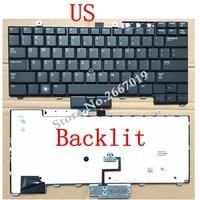 US New Replace Laptop Keyboard For Dell For Latitude E6400 E6410 E5500 E5510 E6500 E6510 M2400