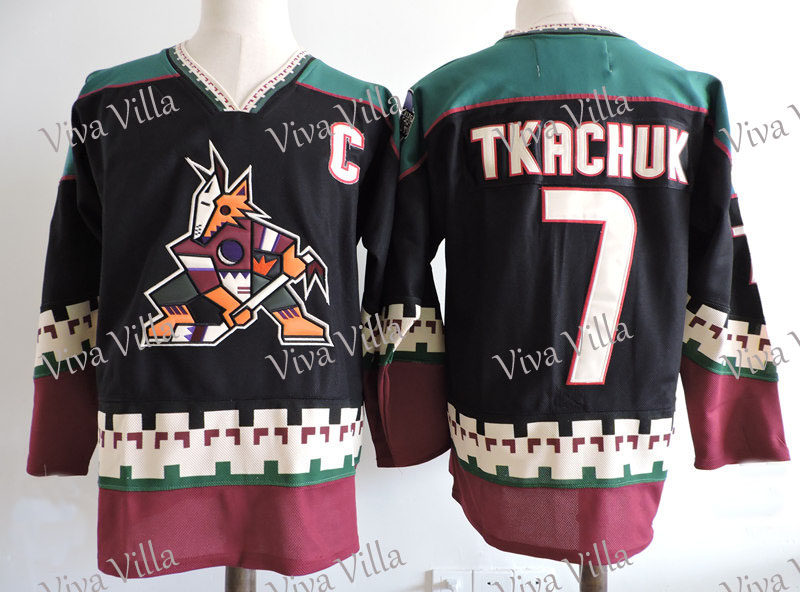 Hockey Jersey 97 roenick 7 Tkachuk Custom Any Name Any Number Stitched Ice Hockey Jersey Free Shipping 50 2015 ice hockey jersey