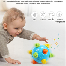 Hot Sale  Color Jumping Activation Ball Music Bouncing Childrens Funny Toy Gift Educational toys Holiday gifts