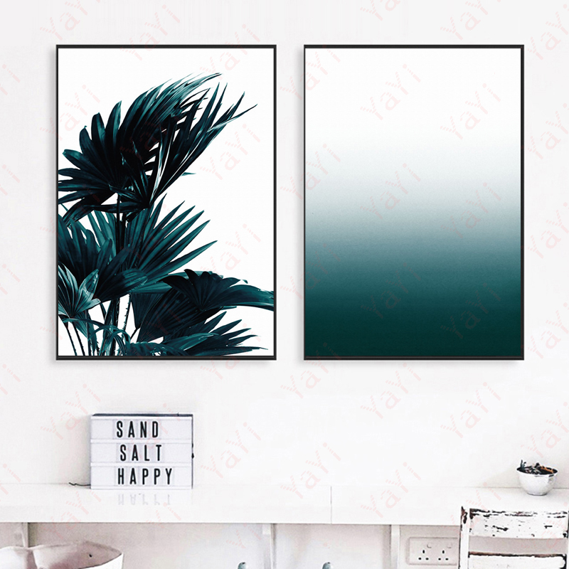 2017 New Nordic Style Print Canvas Art Print, Απλές - Διακόσμηση σπιτιού