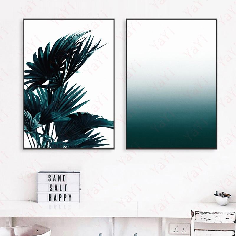 2017 Nytt nordiskt stiltryck Canvas Art Print, enkla färska - Heminredning - Foto 1