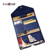 TANGIMP 2016 Frauen & Männer Reisepassinhabers Organizer ID Karte Tasche Multifunktionale Dünne Brieftasche Dokumententasche Reise Clutch Tasche