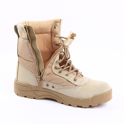 Beige Tactique D'hiver Bottes Swat Chaussures Hommes Bottines Imperméable Hombre Combat Désert Lacets Noir L'armée noir De Botas Militaires qf4wA