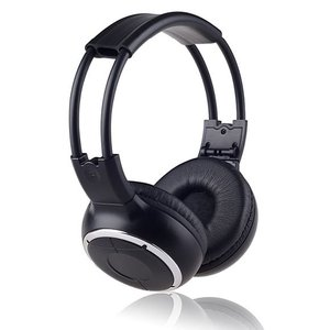 Image 2 - Freee shipping Infrared Stereo Wireless Headphones Headset  IR in Car roof dvd or headrest dvd Player A channels