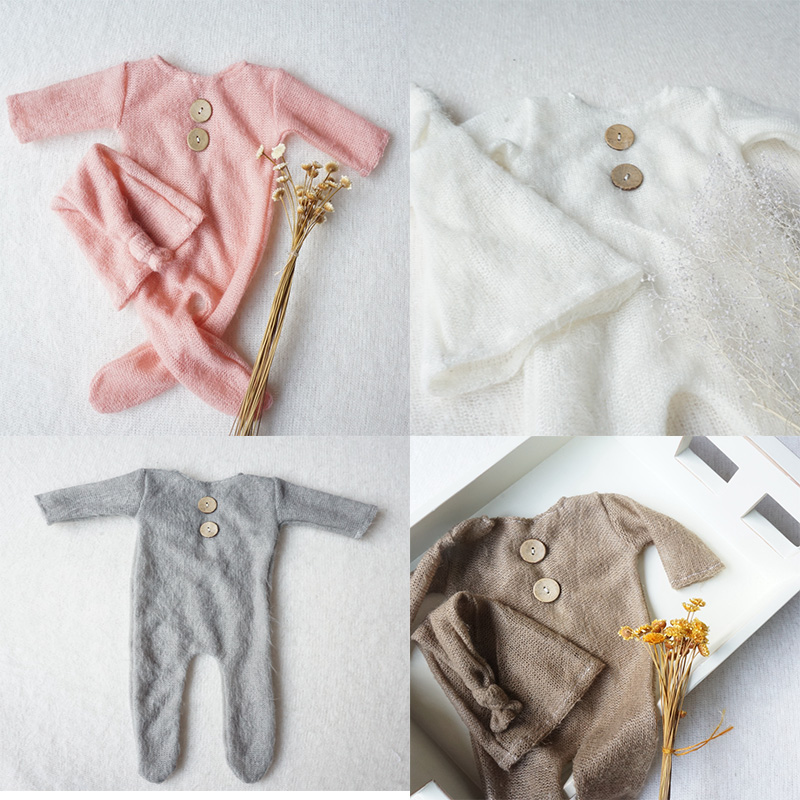 2018 Baby   Romper   100% Cotton Newborn Baby Clothes Long Sleeve Baby Clothing photography props Jumpsuit Infant Clothes