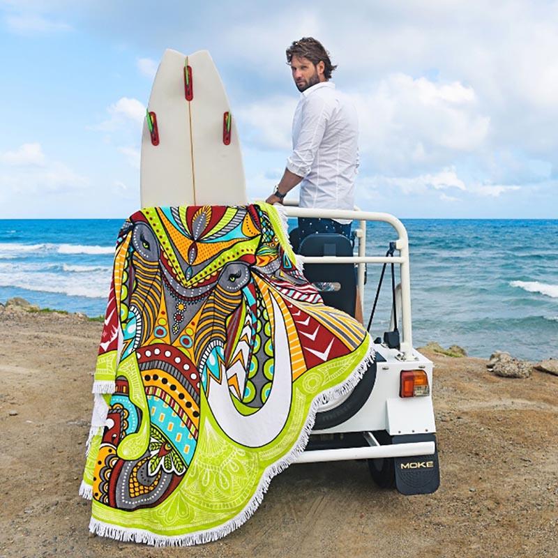Chakra Rainbow Tapestry 1