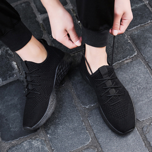 Image 3 - Men Sneakers Men Casual Shoes Brand Men Shoes Male Mesh Flats Plus Big Size Loafers Breathable Slip On Spring Autumn Trainers 48