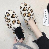 Fashion plus velvet hair cotton shoes 2018 winter new girl big children students work flat casual peas shoes