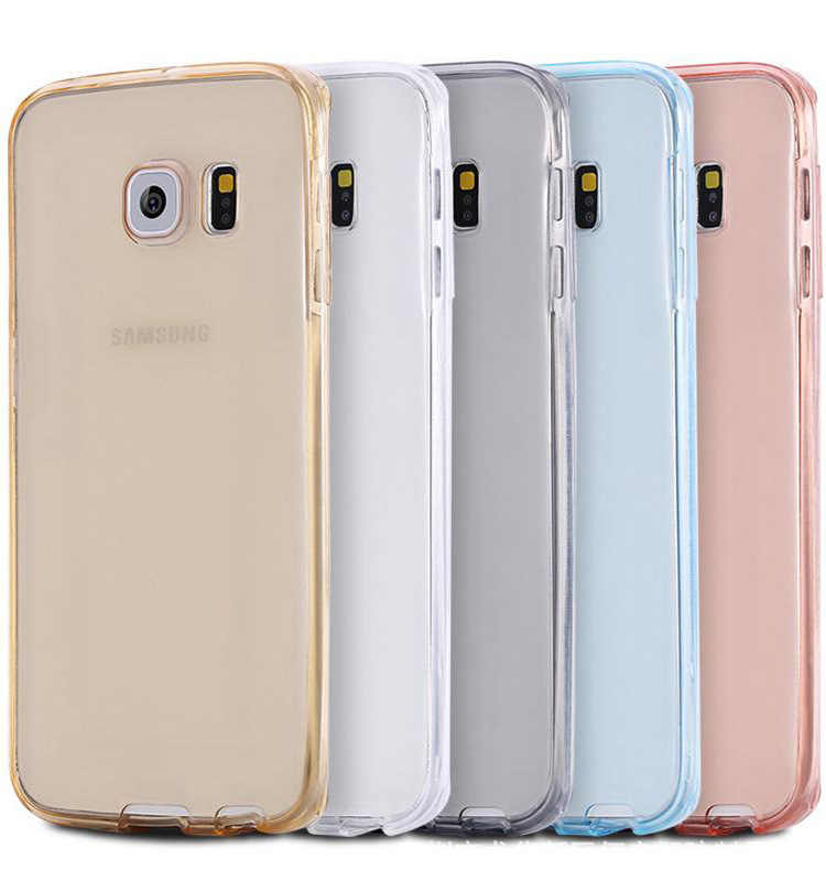 Mobiele Telefoon Geval Voor Samsung Galaxy S3 Duos S4 S5 Neo S6 S7 Rand S8 Plus Note 3 4 5 core Grand Prime 360 Volledige Clear Cover