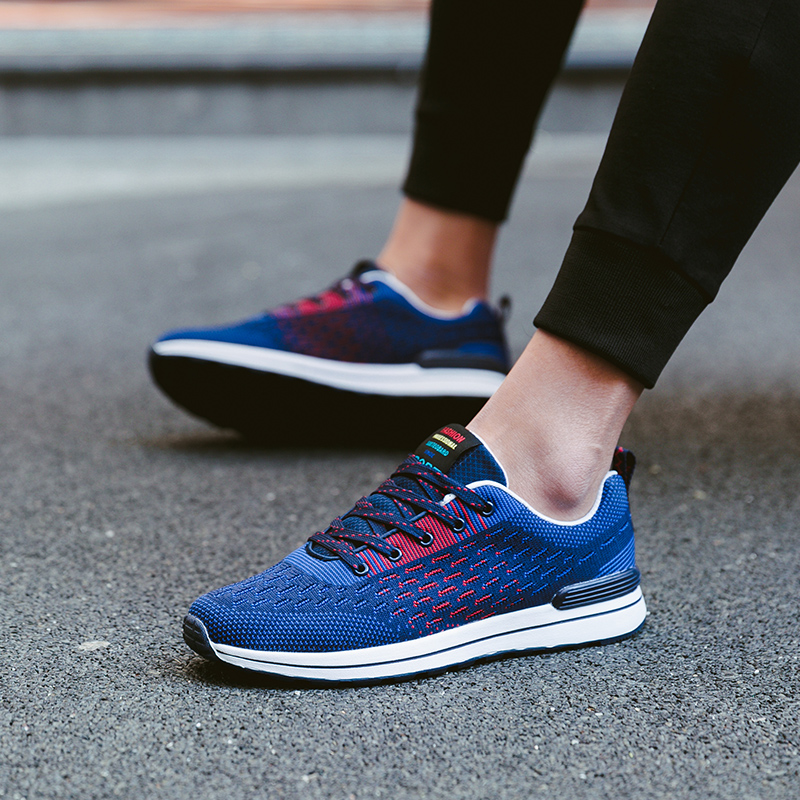 Spring summer Popular fashion Casual Shoes Breathable soft Male Casual Shoes adult Non slip Comfortable light Hot Footwear 5 in Men 39 s Casual Shoes from Shoes