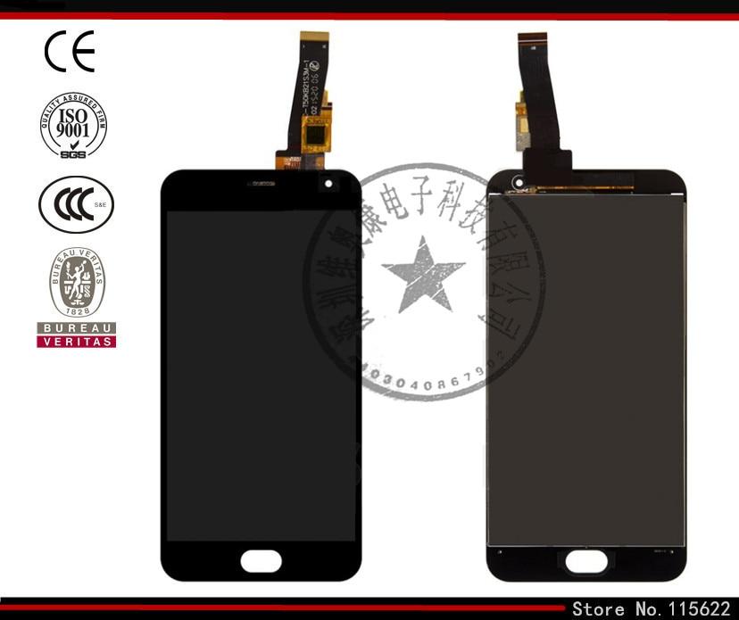 Pantalla lcd de pantalla para meizu m2 mini teléfono celular, (negro, con pantal