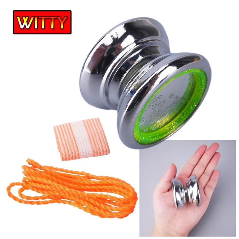 New Style Aluminum Alloy Yoyo High Precision Ball Beaing String Tick YOYO Mini Metal YoY ...