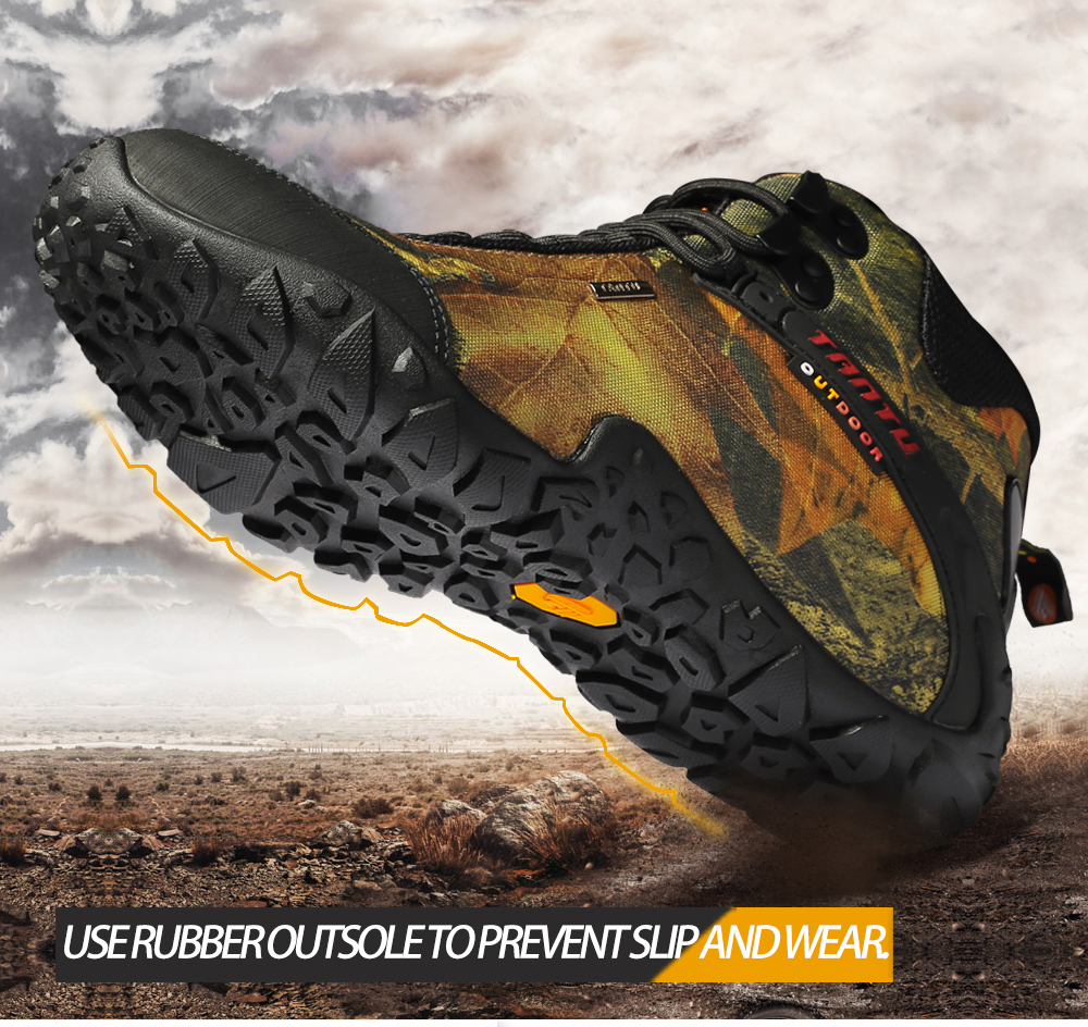 Outdoor Camouflage Tactical Sport Men\`s Shoes (4)